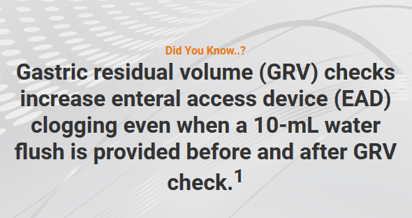 Checking GRV Promotes Clogging – Tuesday Tube Facts