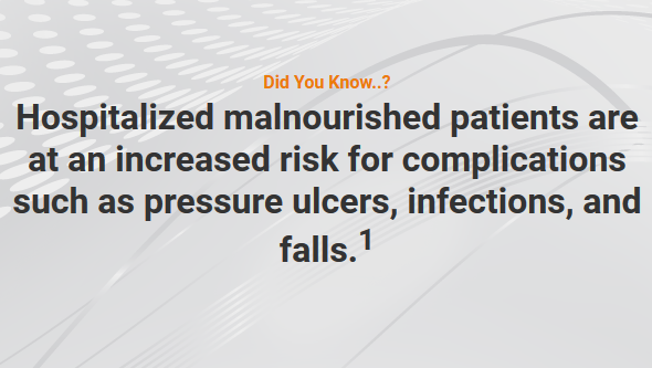 Malnutrition in Hospital Increases Risk of Complications – Tuesday Tube Facts