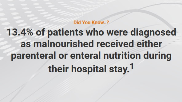 Over 13% of Malnourished Patients Receive PN or EN – Tuesday Tube Facts